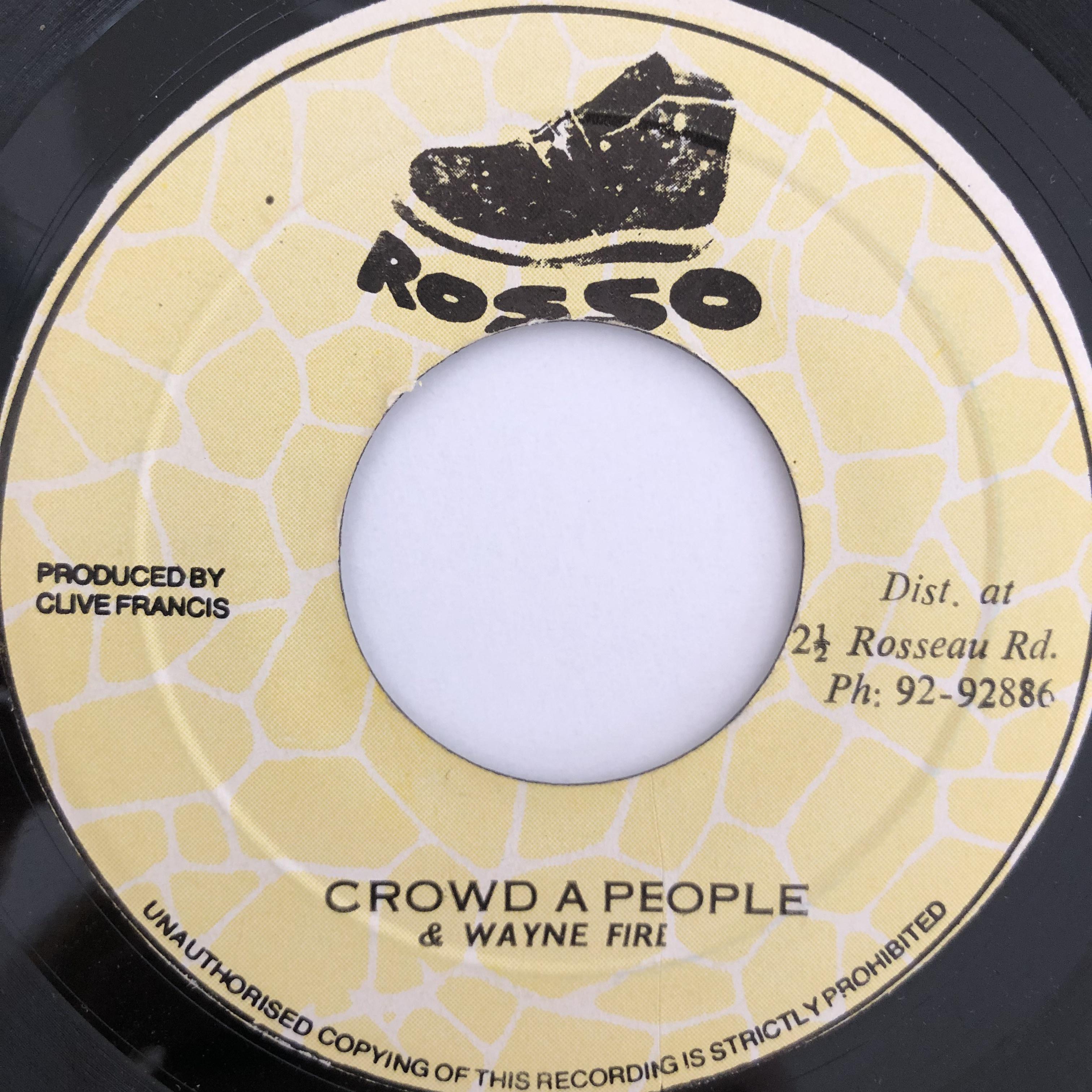 Wayne Fire(ウェインファイヤー) - Crowd A People【7-20092】
