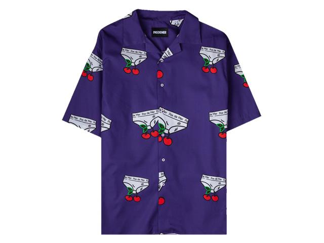 Pas De Mer|Seasonal Short Sleeve Shirt
