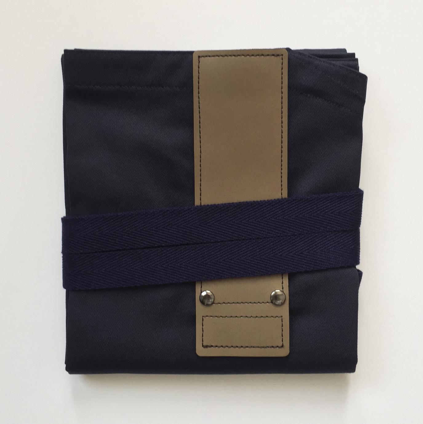 NAVYxDARKBROWN HASHIRA-JYU mitten pocket set