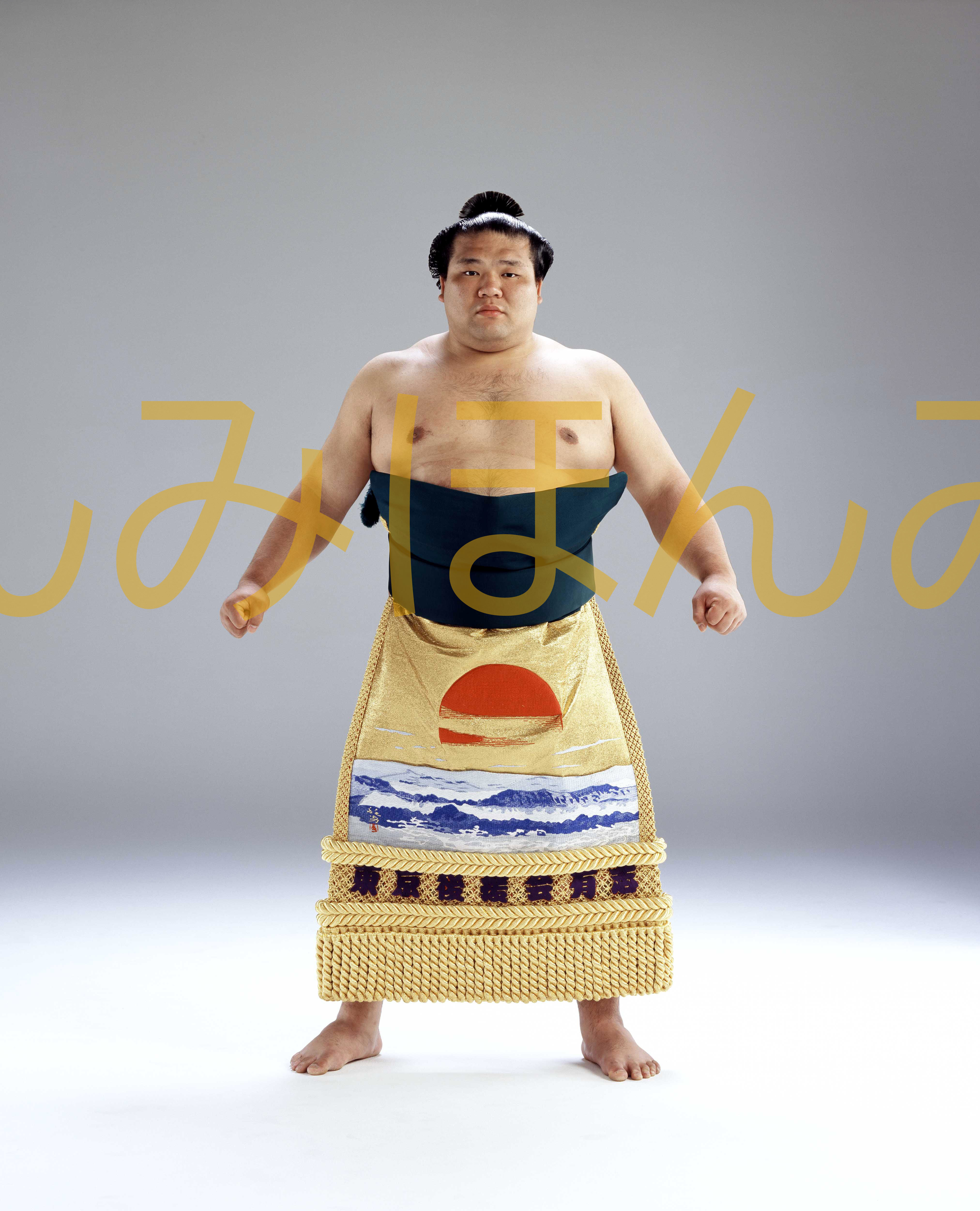 平成18年1月場所優勝 大関 栃東大裕関(3回目最後の優勝)