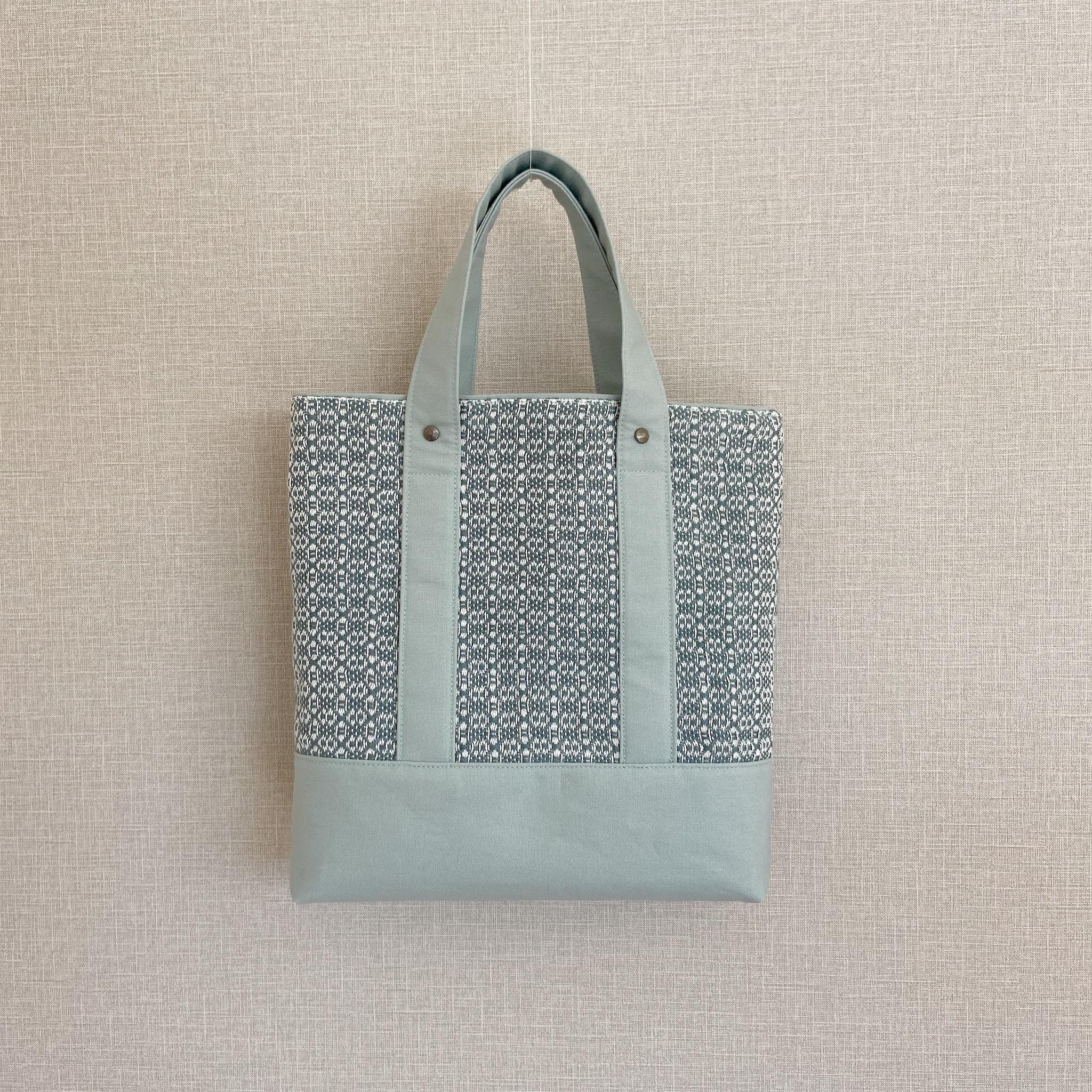 手織りトートバッグ(Tote bag Dear Flower)
