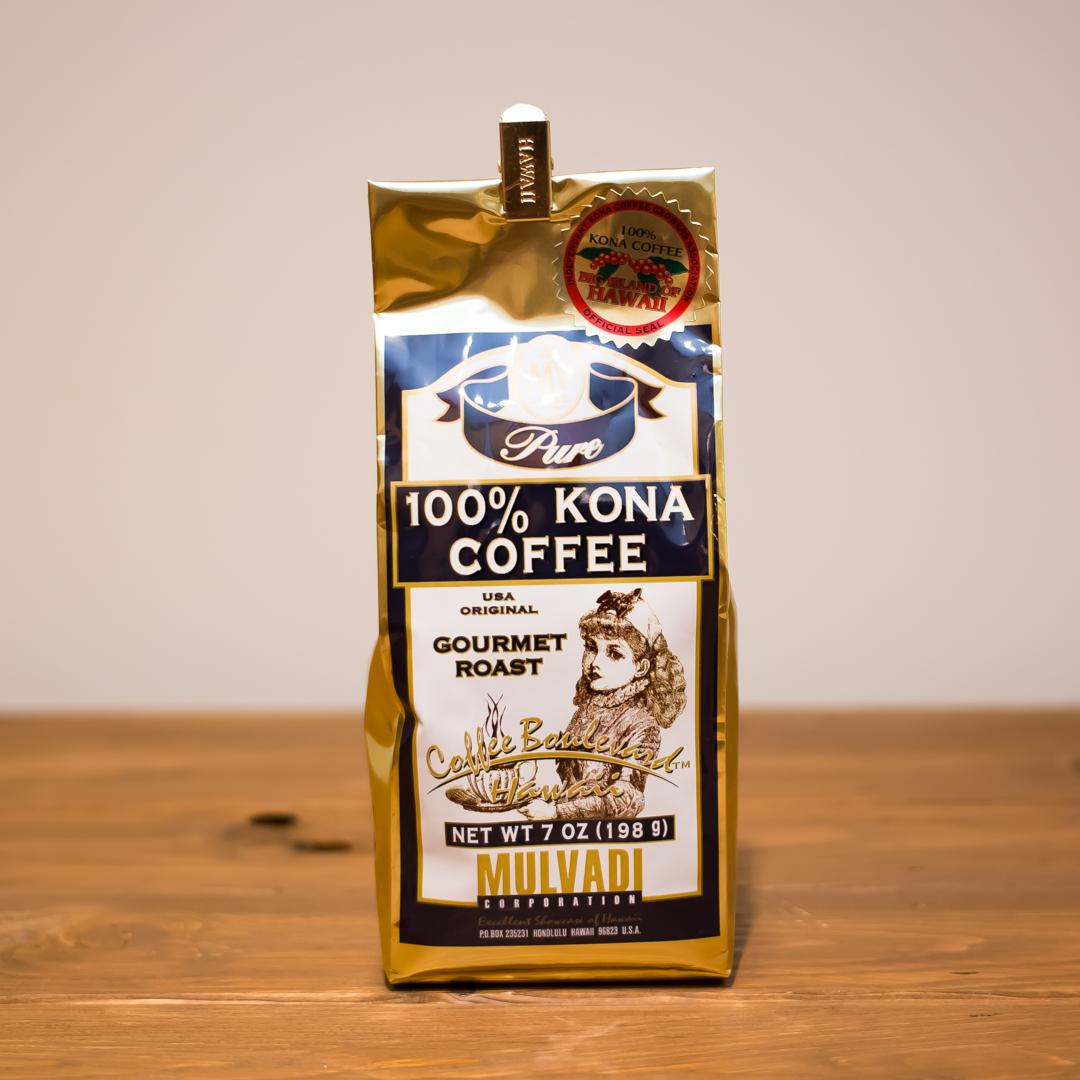 MULVADI 100% KONA COFFEE GROUND