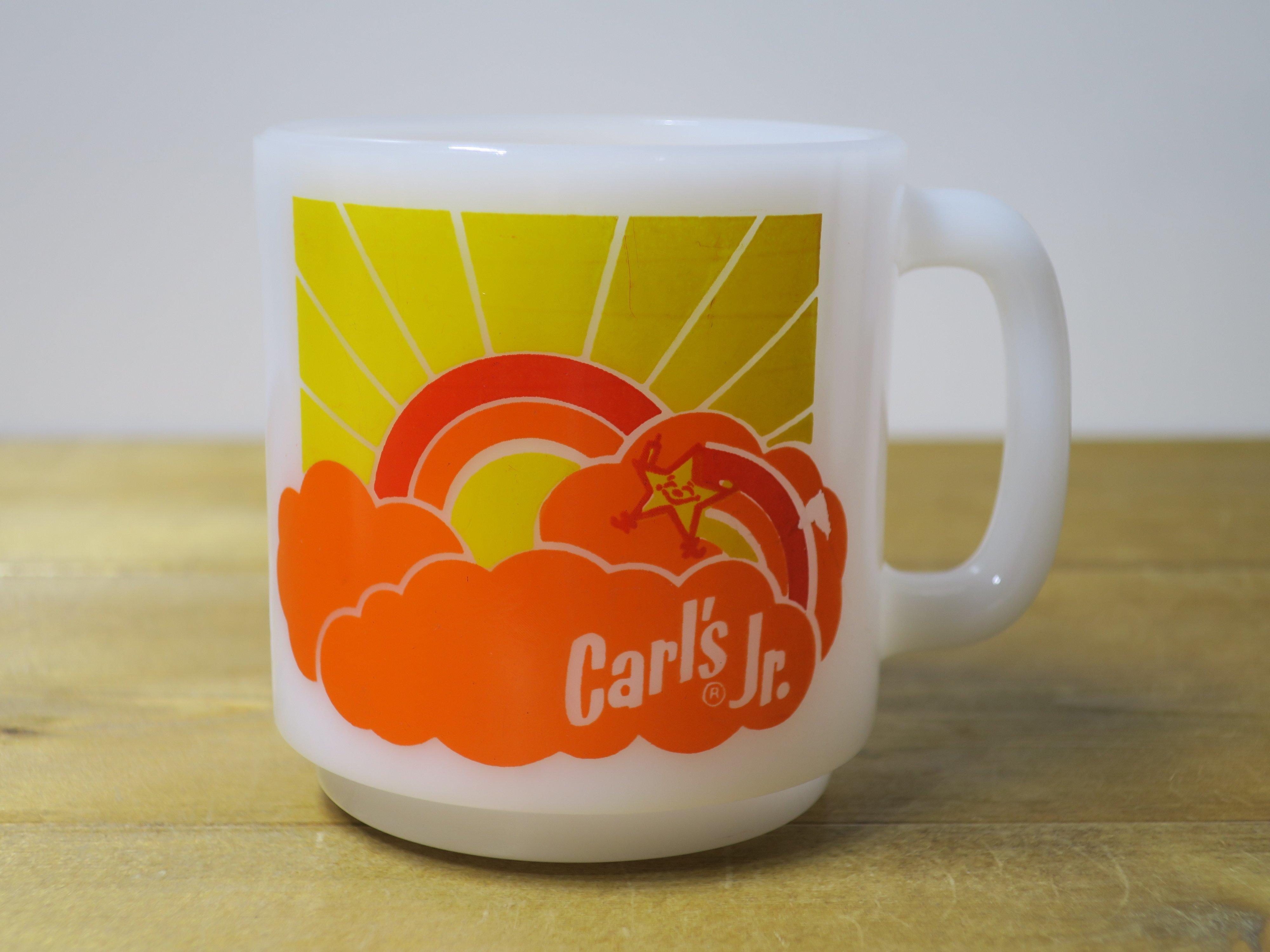 Glasbake スタッキングマグ Carl's Jr