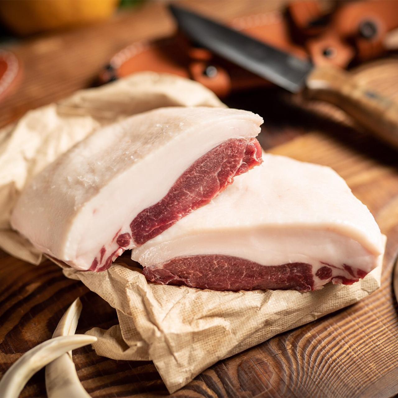 猪 生肉ブロック入りセットB(約1.2kg)