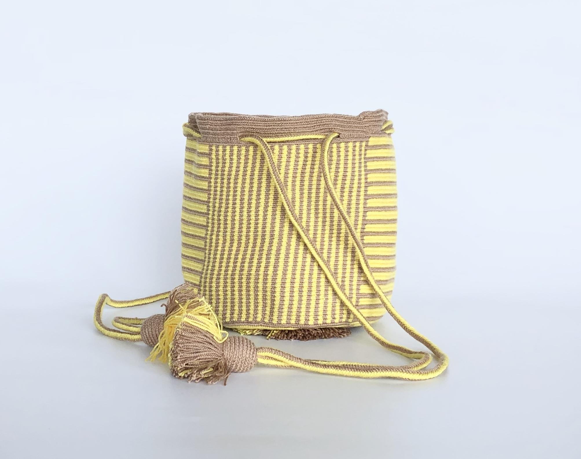 ワユーバッグ(Wayuu bag) Exclusive line Kinchaku Sサイズ