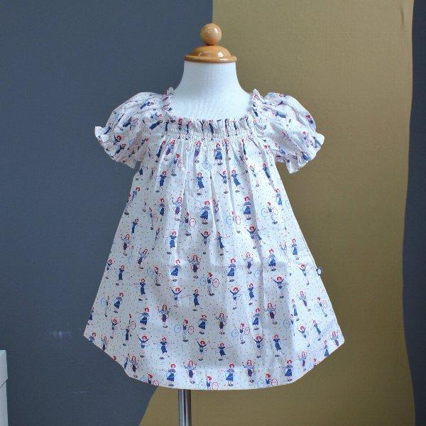 Oeuf/ウフ ( Dress /フラフープ ) 12m