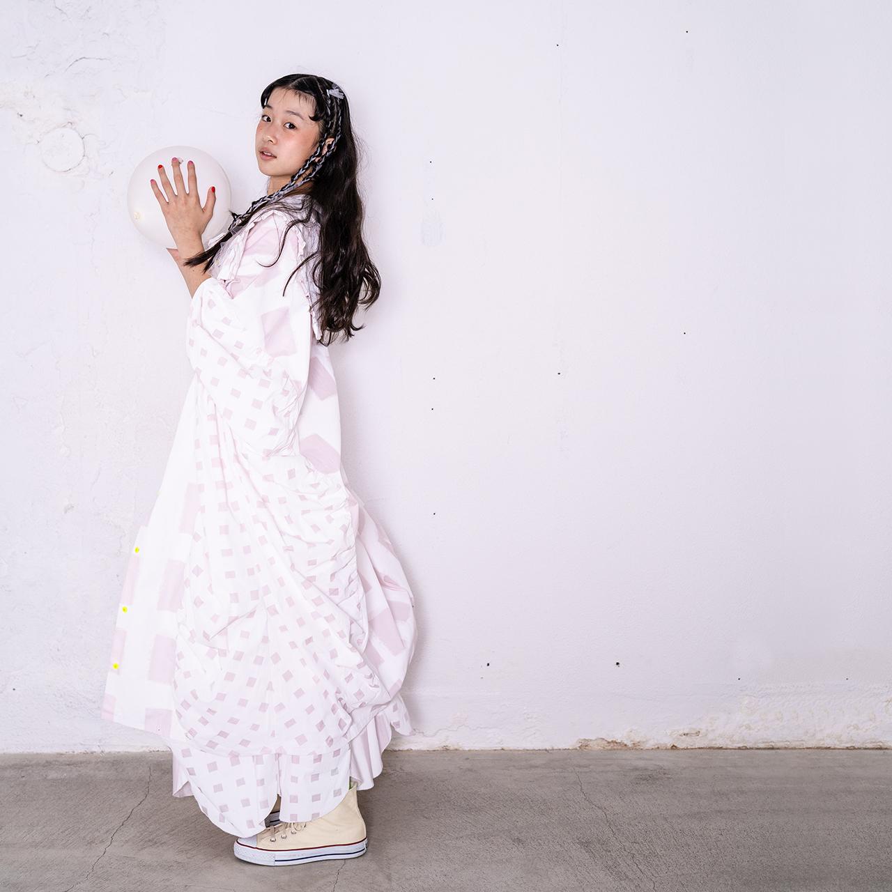 ORIG. CHECK MIX PENTAGON DRESS SHIRT / WOMEN