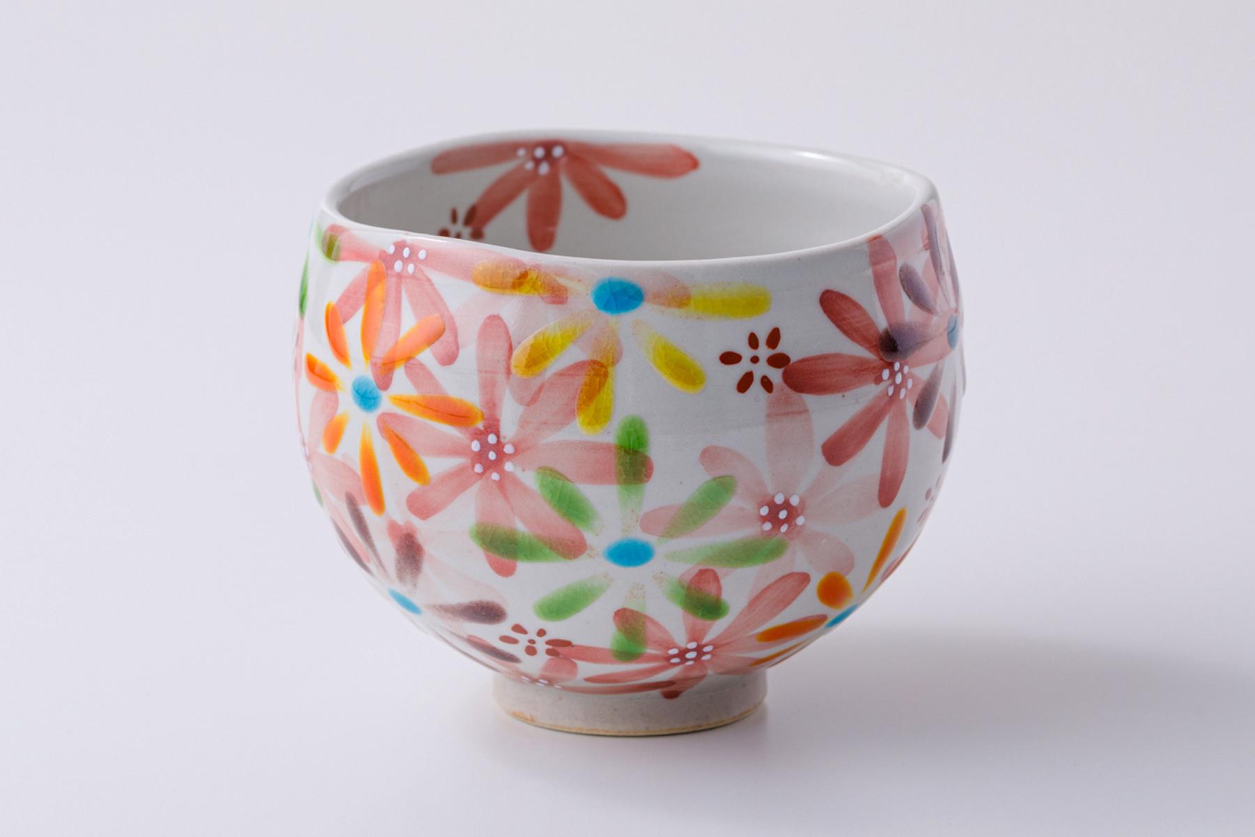 いっぷく碗 花の宴-utage-赤