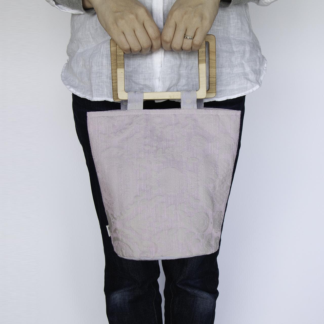 flowerpot bag L [garden / rose pink]