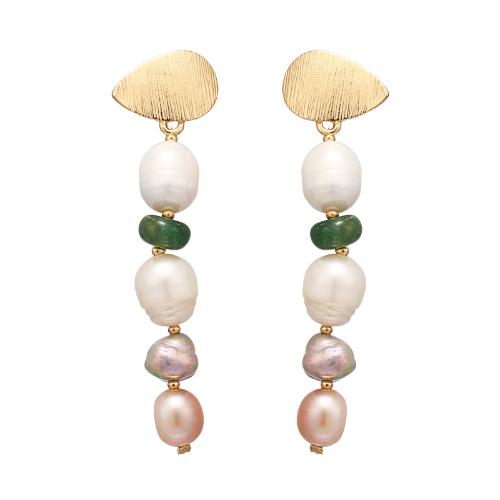 【訳あり】P1015 - Pearl Long Dangle
