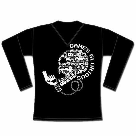 MIND CONTROL Long T-Shirt / GAMES GLORIOUS