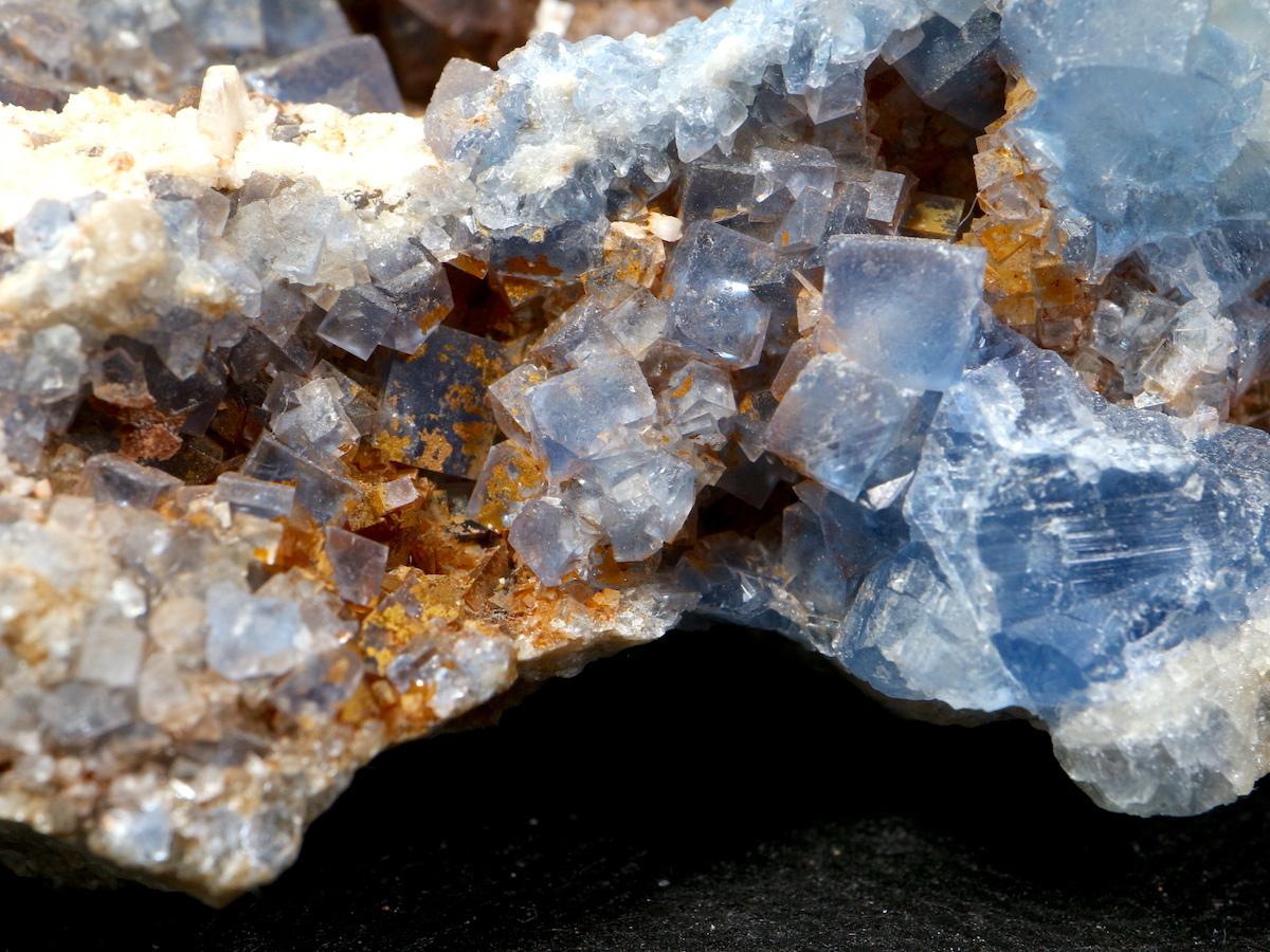 蛍石 + 方鉛鉱 ニューメキシコ アメリカ産 フローライト + ガリーナ 原石 411g FL056