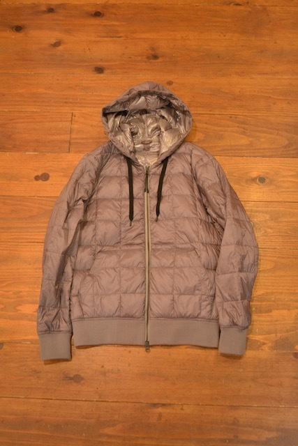TAION / HOOD W-ZIP DOWN JACKET