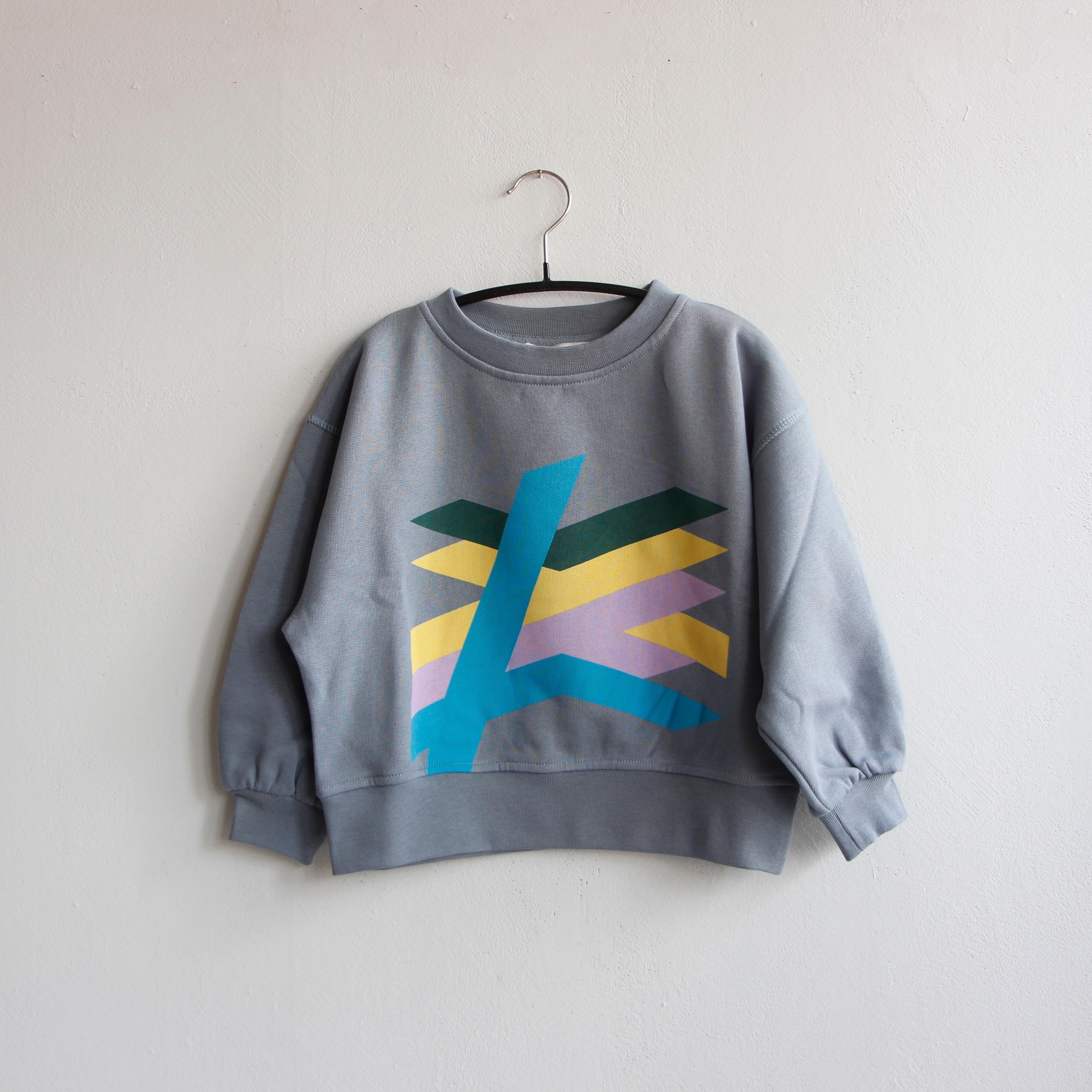 《main story 2020AW》Oversized Sweatshirt / tradewind