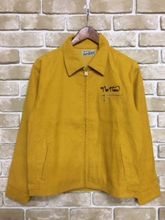 CORDUROY JACKET 1nd Type (MUSTARD)