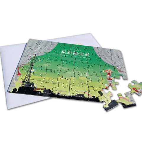 DECO*27「恋距離遠愛」パズルレター - 画像1