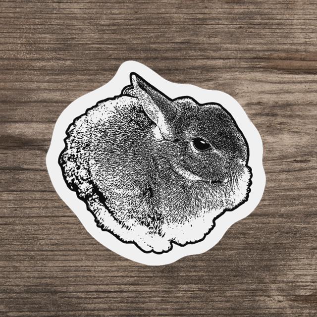 ミニステッカー(ウサギ)