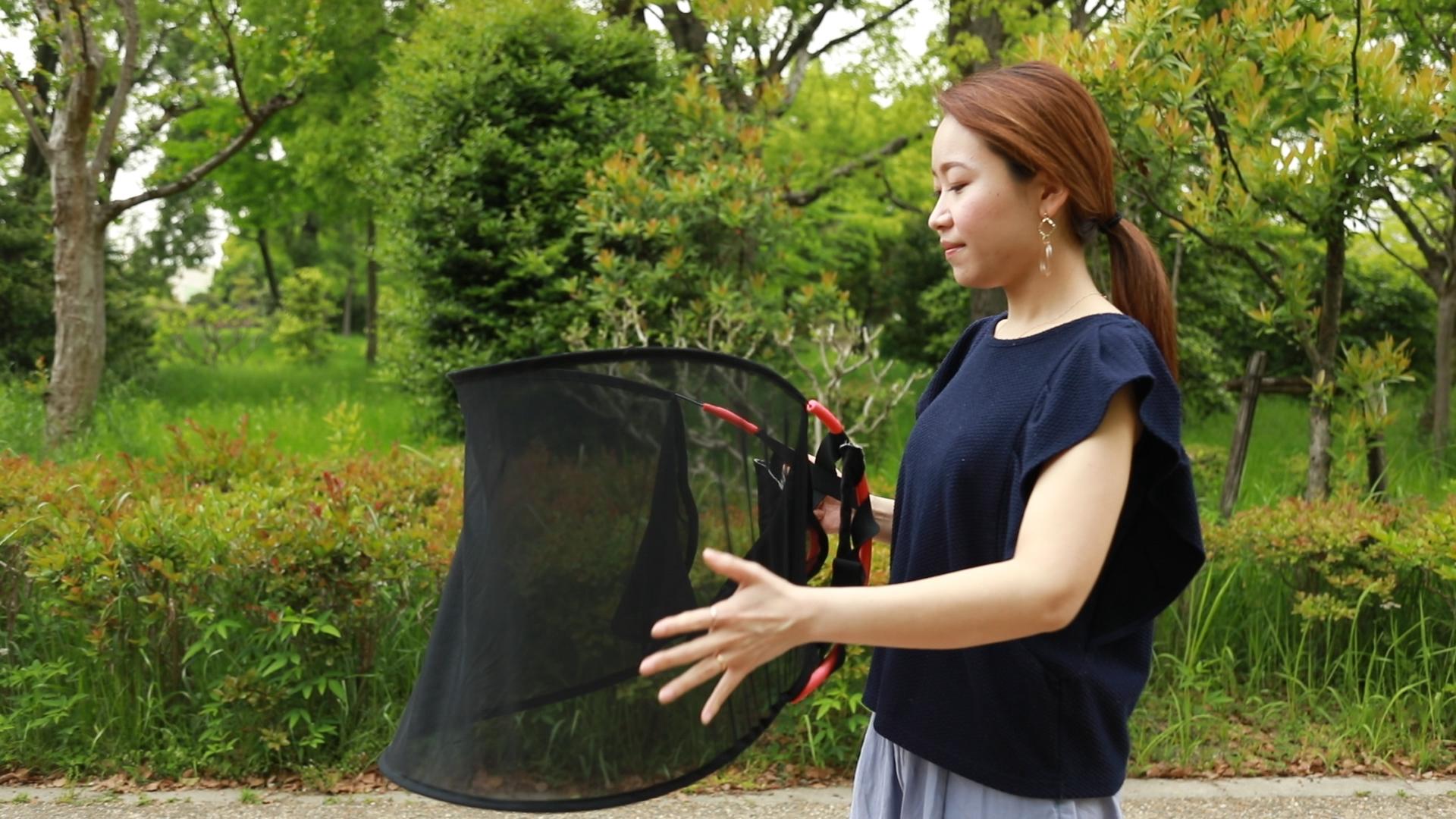 かさまる ベーシック 黒 Sサイズ【ka-001B】