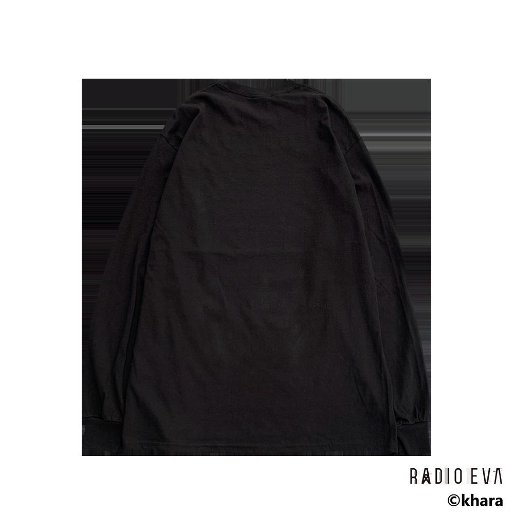Asuka Langley Shikinami-Test Plug Suit L/S Tee (BLACK)  /  RADIO EVA