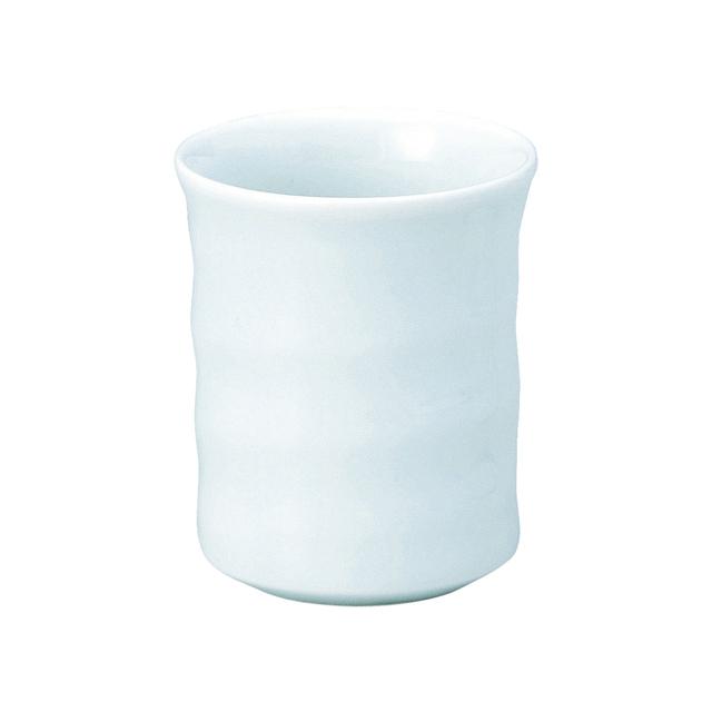 【2062-6050】強化磁器 ろくべい湯呑 おぼろ