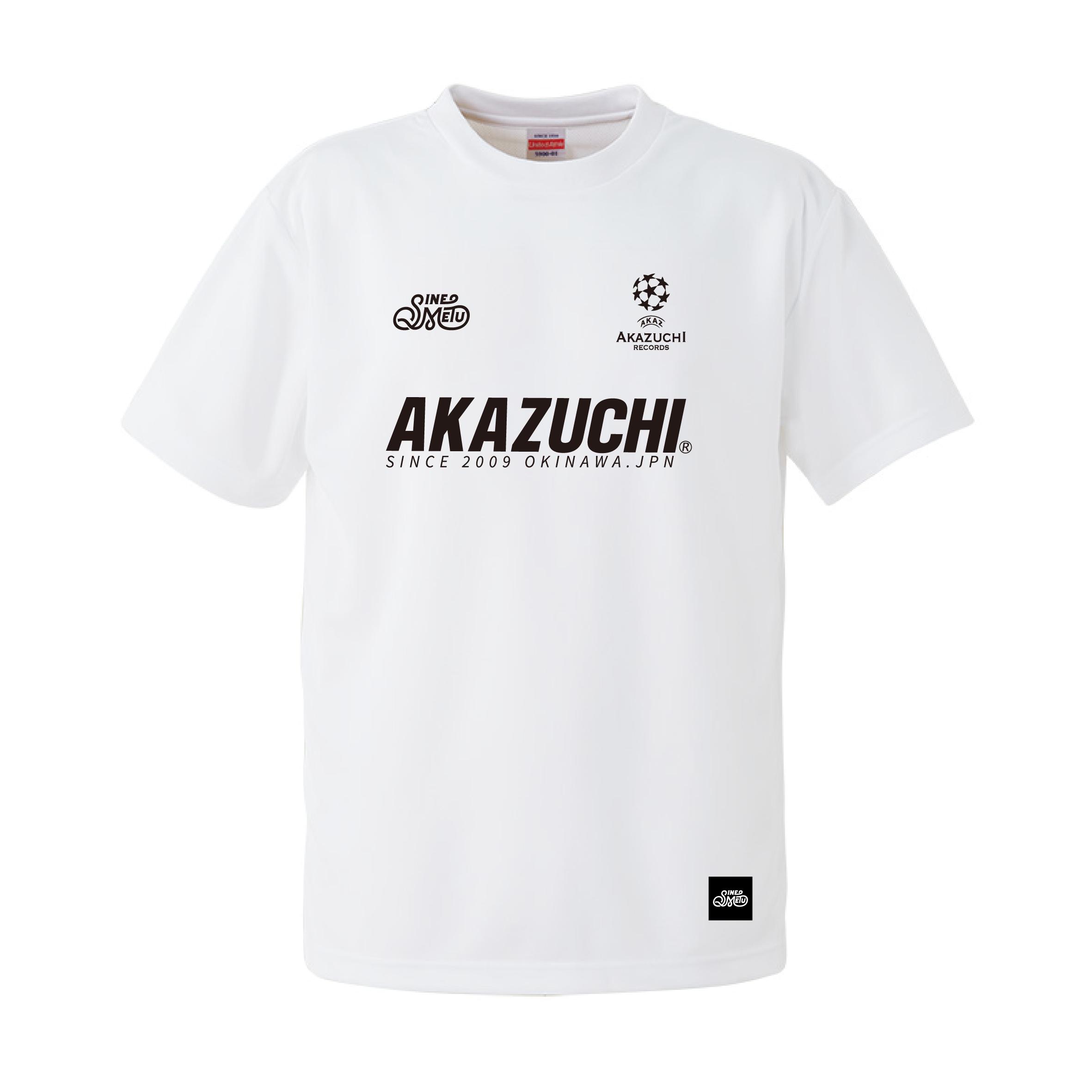 『AKAZUCHI × SINE METU』DRY TEEシャツ / ホワイト