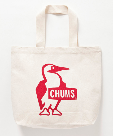 CHUMS (チャムス) Booby Canvas Tote (ブービーキャンバストート) Red(レッド)