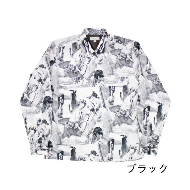 Collage Ma Chrie L/S Shirts 【OR GLORY】