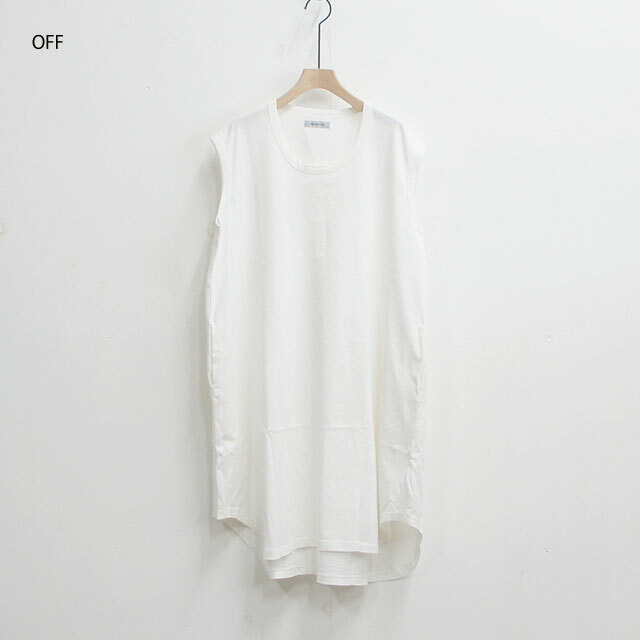 ORDINARY FITS オーディナリーフィッツ ドロップワンピース DROP ONE PIECE  レディース ワンピース ロング ノースリーブ 無地 通販 SALE セール 【返品交換不可】 (品番of-c007)