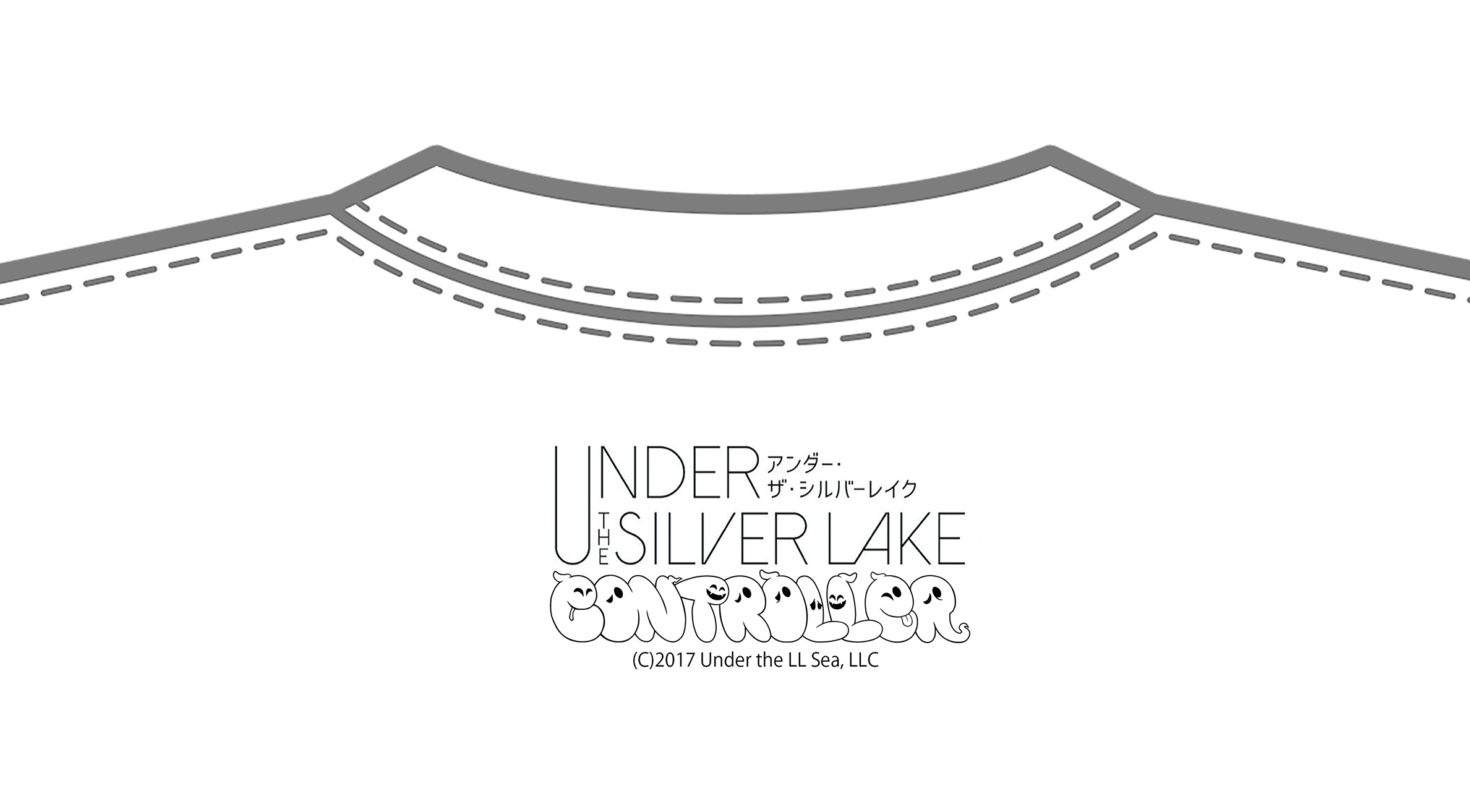UNDER THE SILVER LAKE / CONTROLLER  コラボTシャツ タイトル写真バージョン