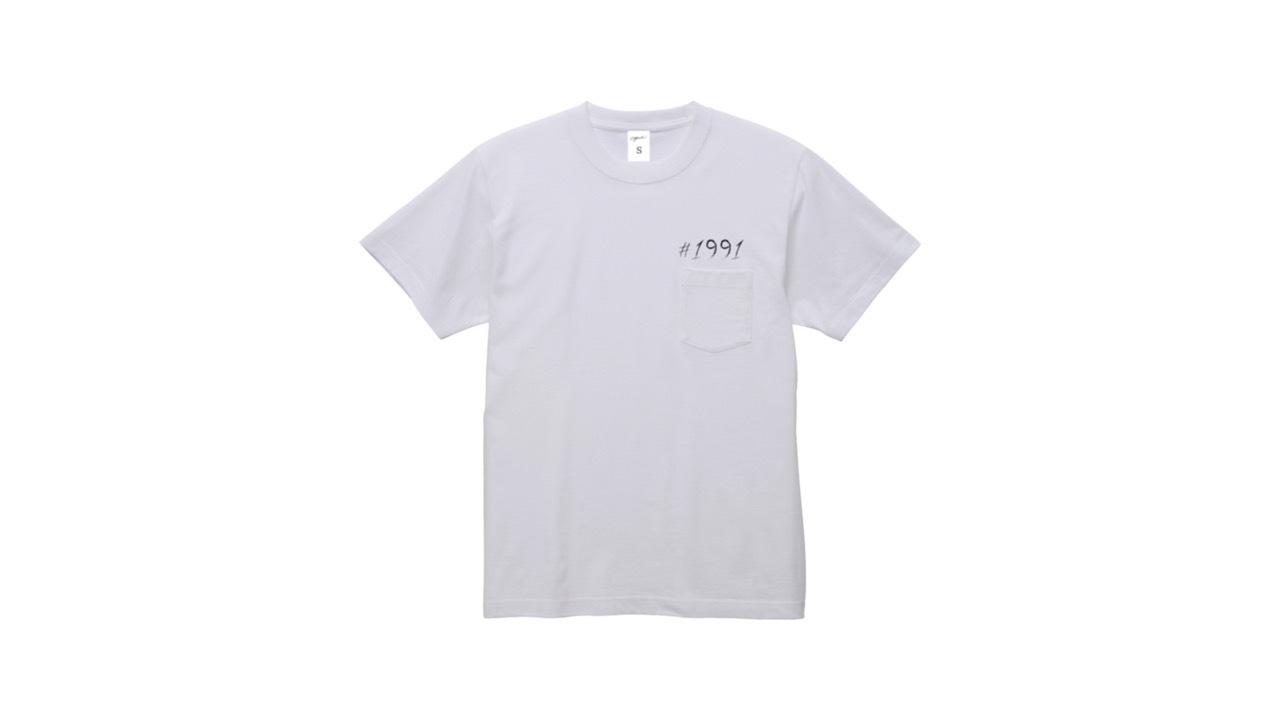 1991 pocket T-shirts (WH)