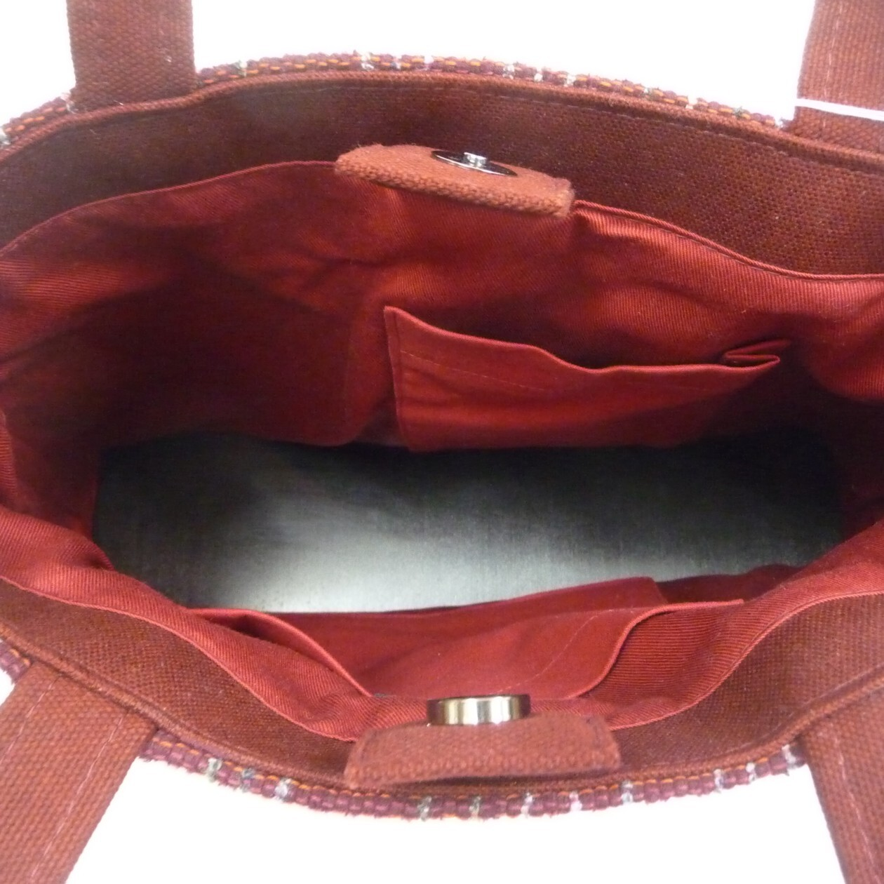 縞々トートバッグ