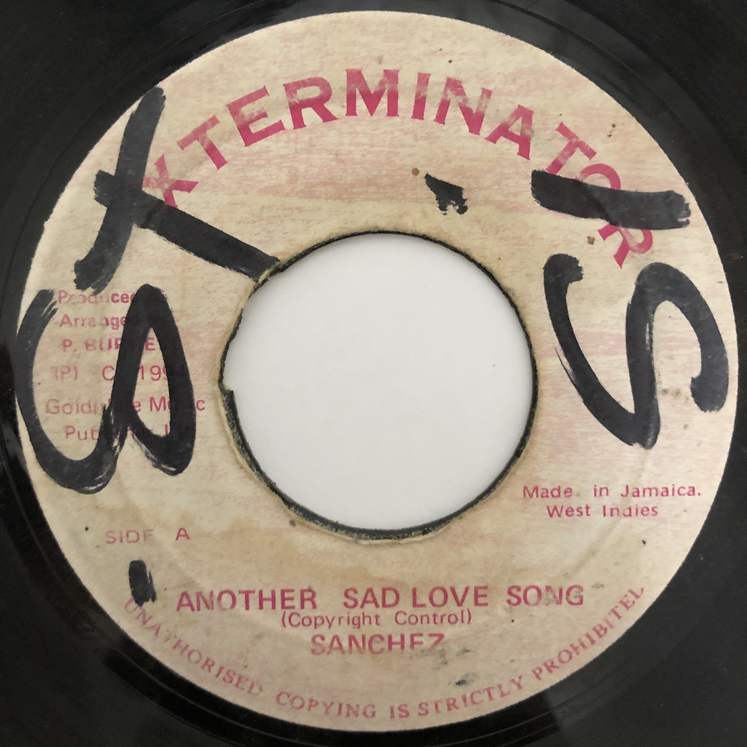 Sanchez - Another Sad Love Song【7-20445】