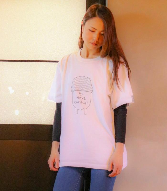 フロントプリントTシャツ |M-L-XLsize