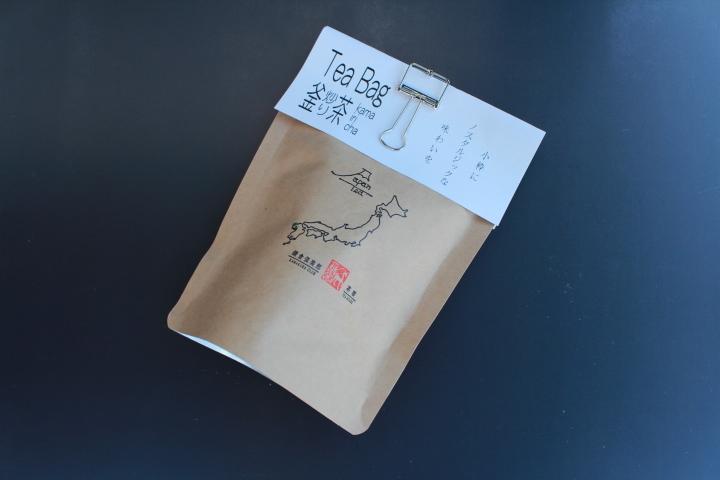 釜炒り茶Tea Bag ~かまいりちゃ ティーバッグ~ 3g×5ヶ