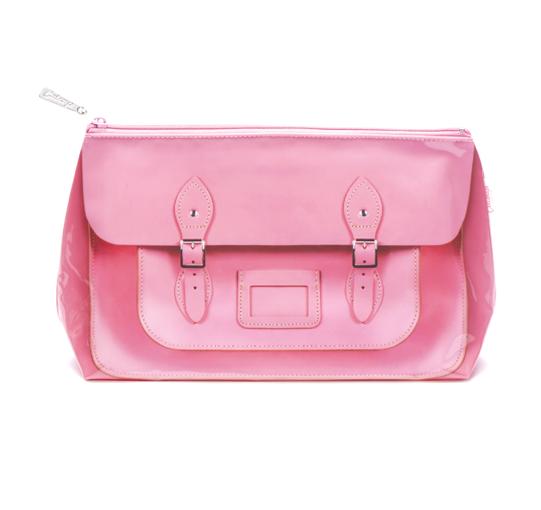 Satchel Pink Wash Bag_STP4W