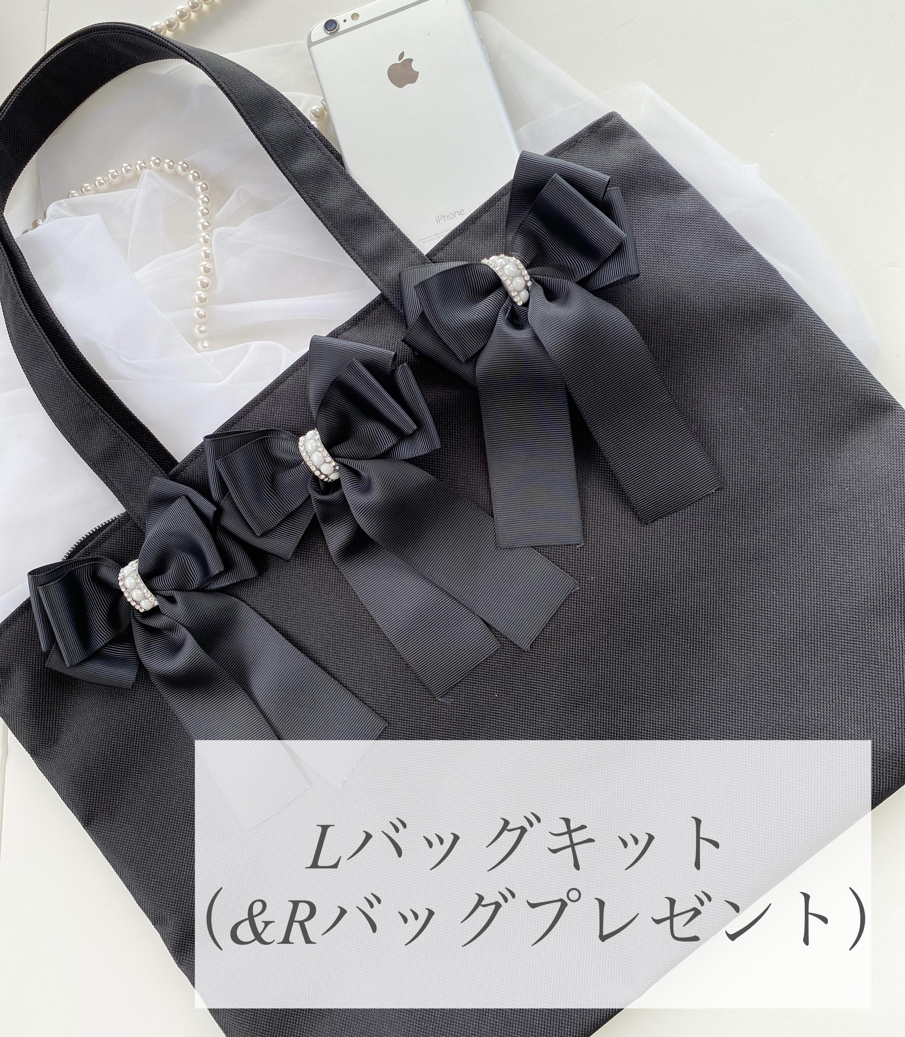 ⑰Pave ribbon ensemble Lバッグ+&Rバッグ 通信キット