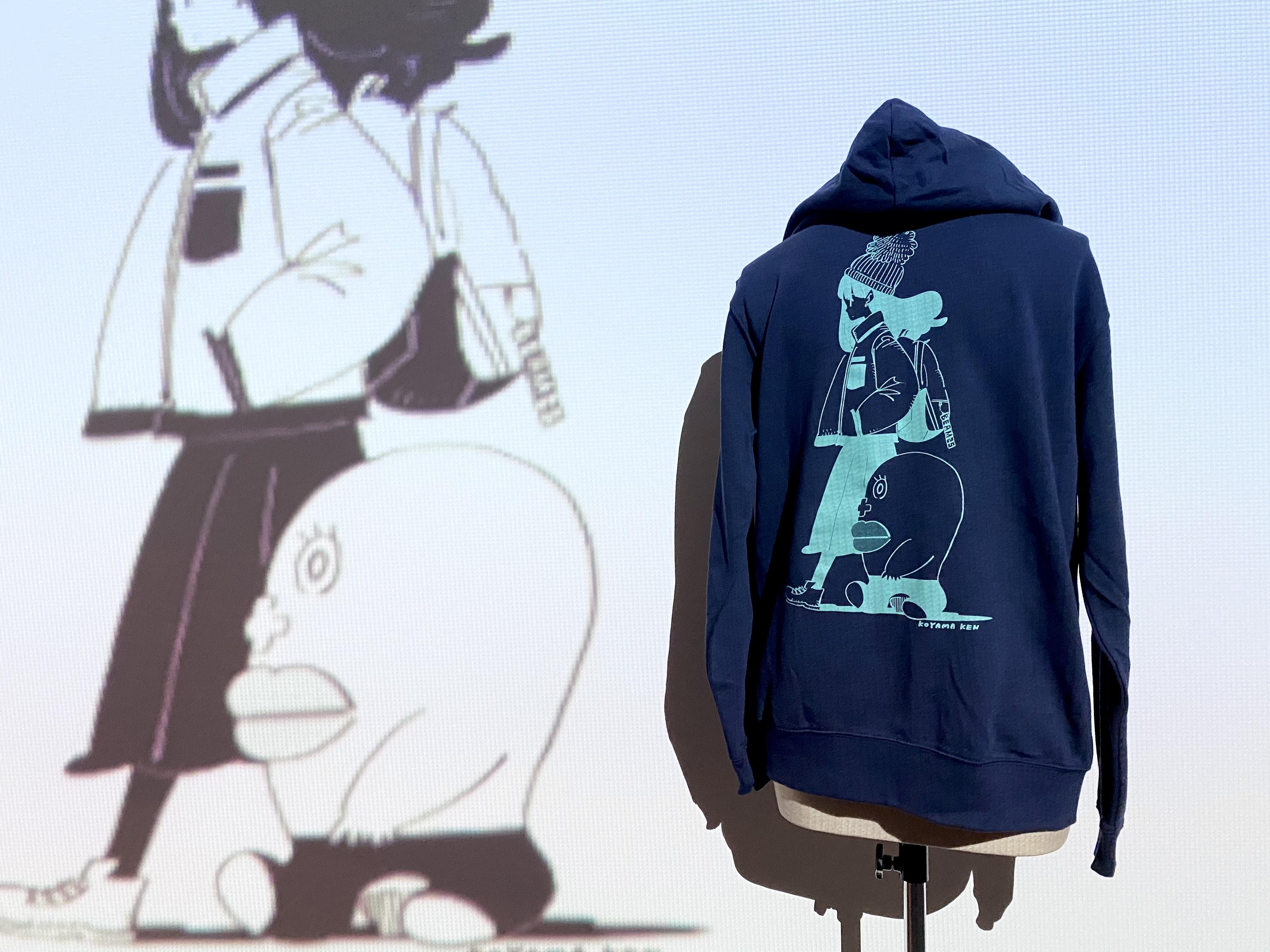 【ビーム25周年描き下ろし企画】小山健「クールな生理ちゃん」ジップアップパーカー