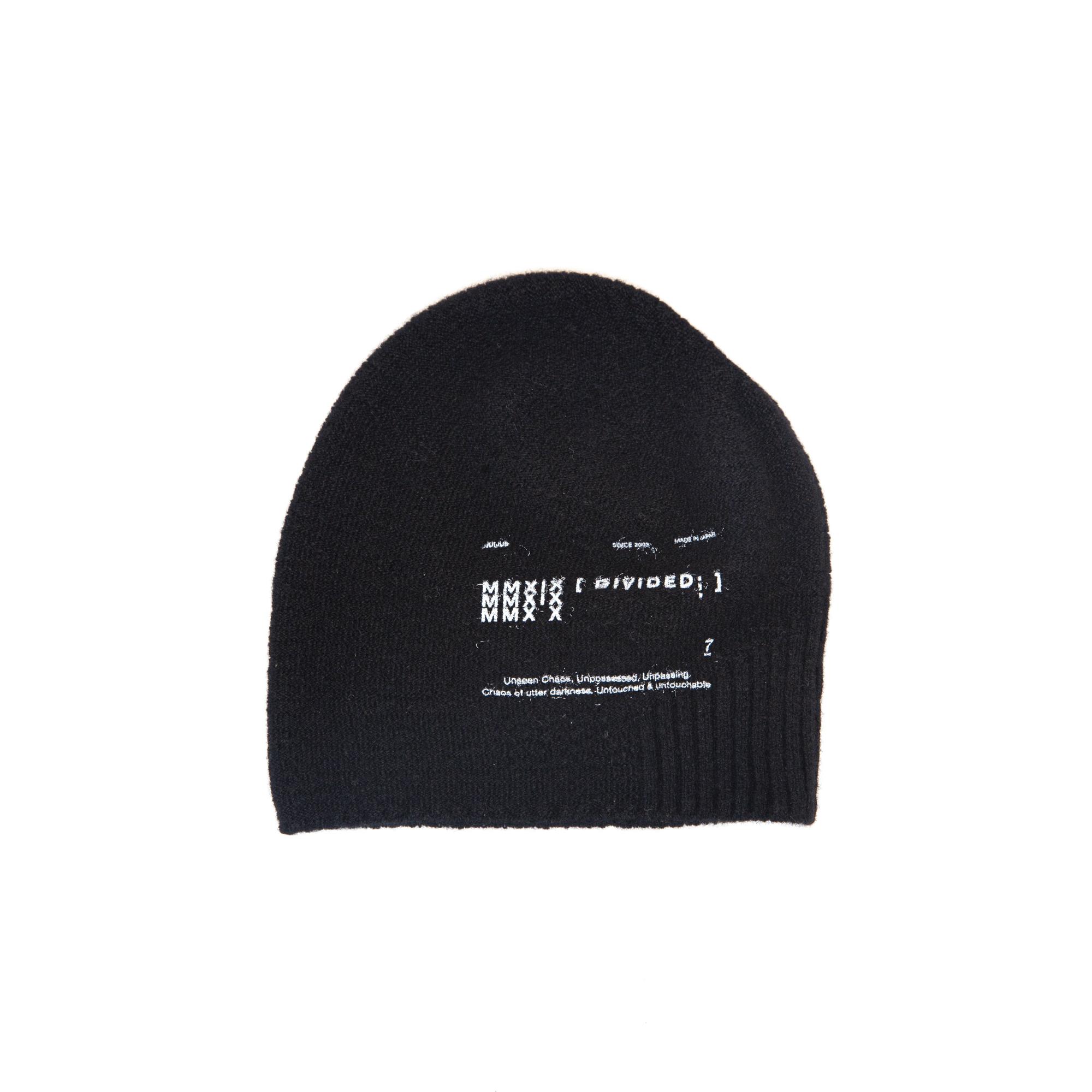 677ACU27-BLACK / ビーニー