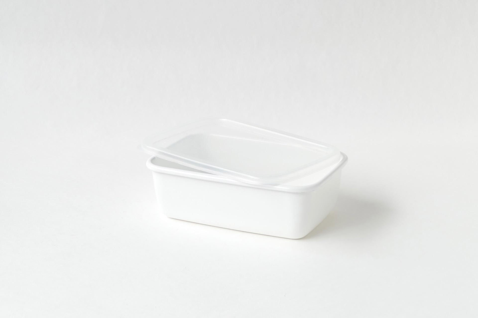 野田琺瑯 レクタングル深型M シール蓋つき