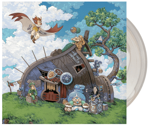 【オウルボーイ】Owlboy Vinyl Soundtrack 2xLP - 画像1