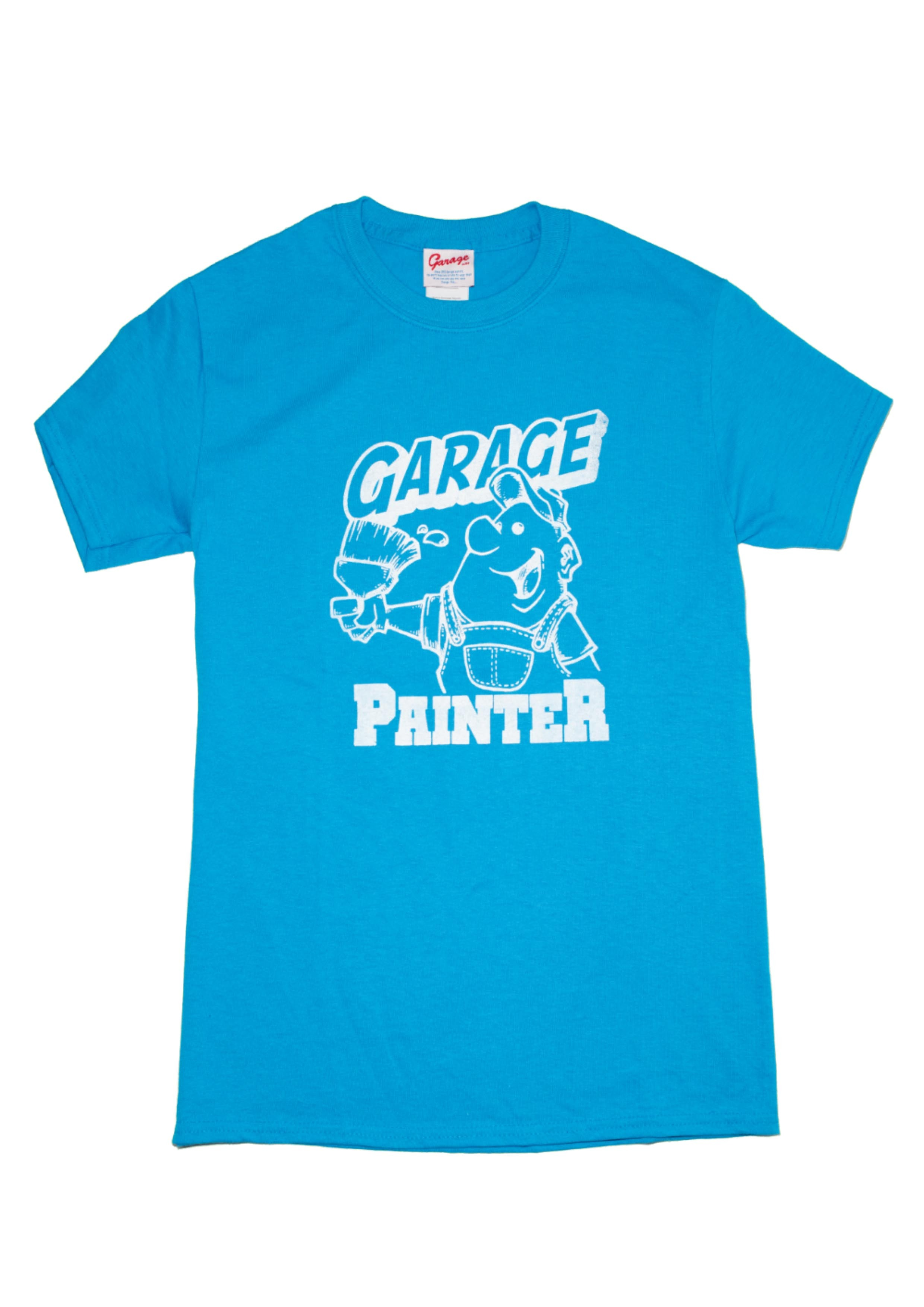 Garage Painter T Blue