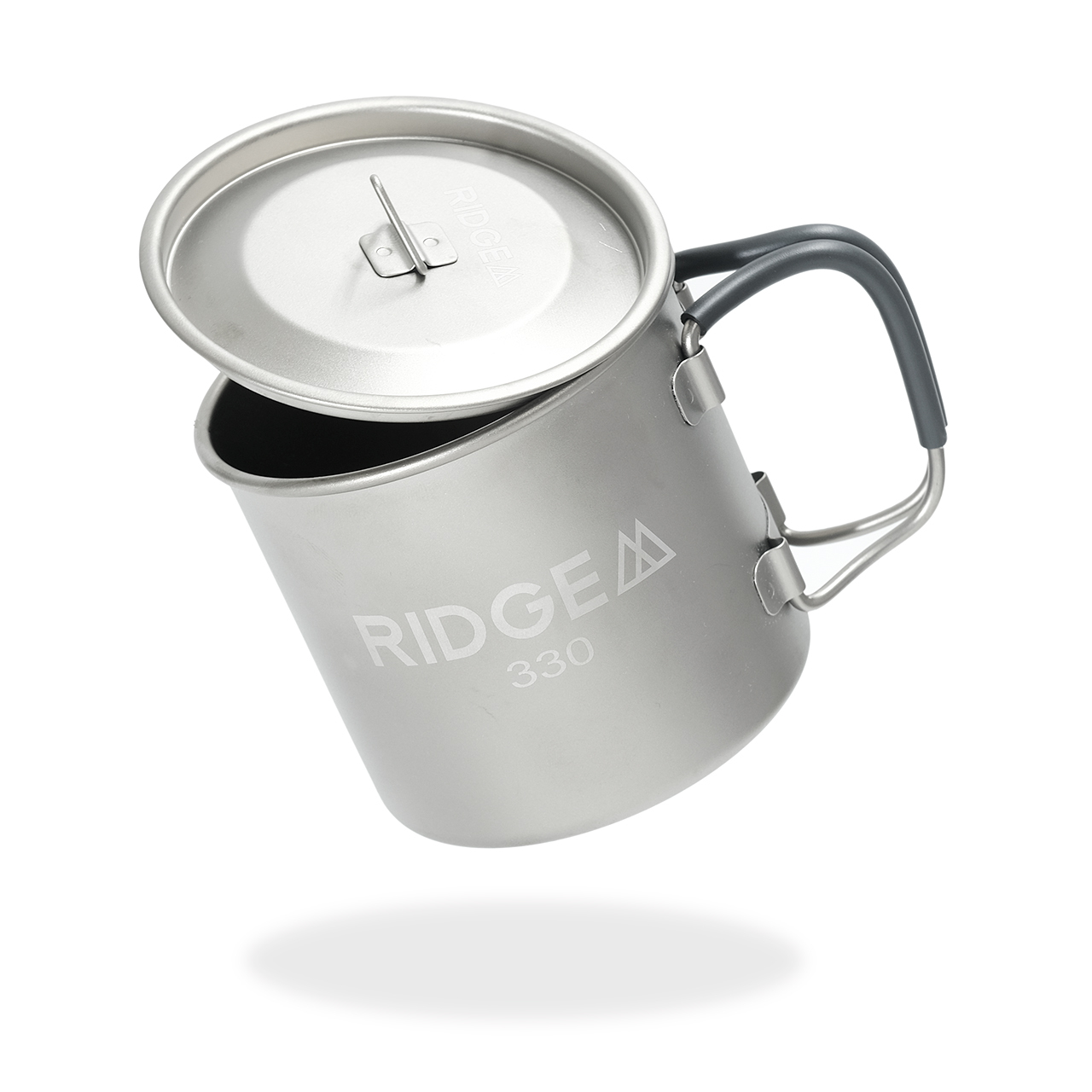 Single Titanium Mug 330 + Lid