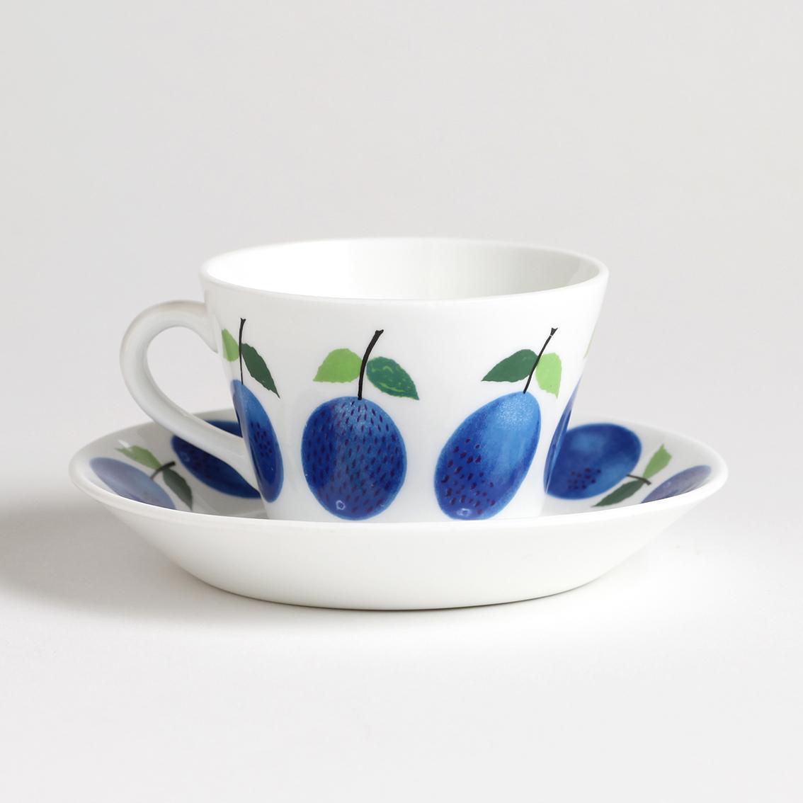 Gustavsberg グスタフスベリ Prunus プルーヌス コーヒーカップ&ソーサー -2 北欧ヴィンテージ
