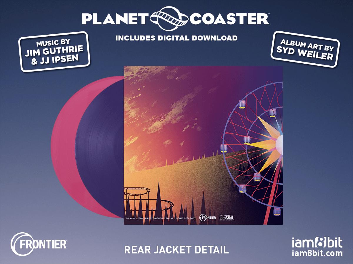 【プラネットコースター】Planet Coaster Soundtrack 2LP - 画像3
