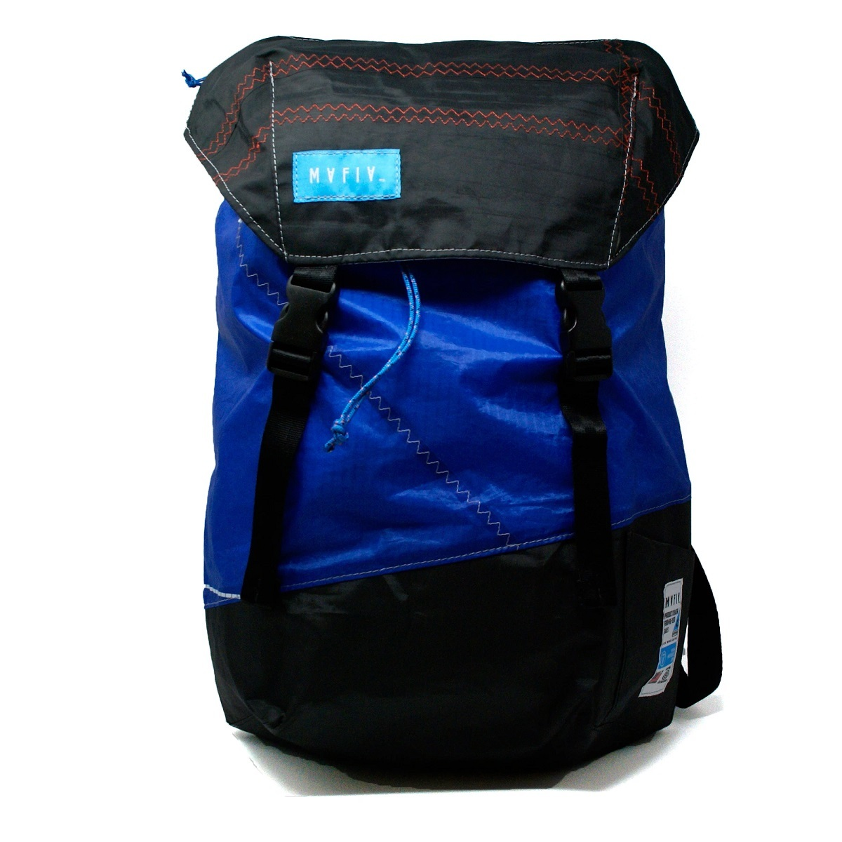 Discover Pack  アップサイクル バックパック  Mafia Bags ID: 192 / Blue