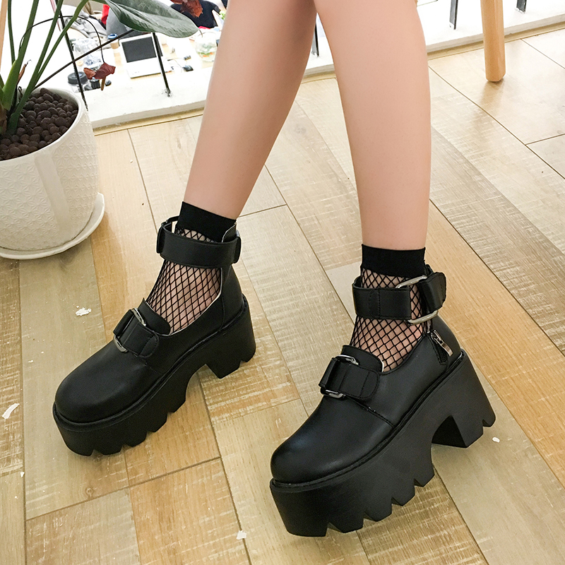 【shoes】ストリート厚底人気パンプス13855694