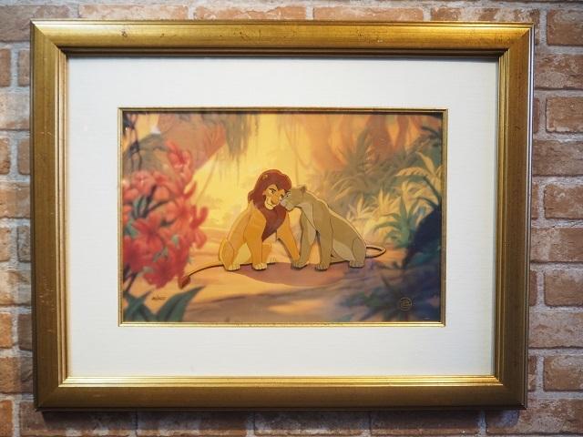 品番0703 ライオンキング セル画 Art 011