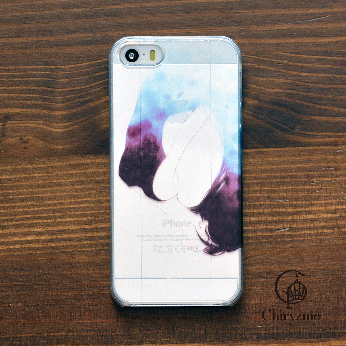 【BASE店限定】アイフォンse ケース クリア iPhoneSE クリアケース キラキラ かわいい 新生活 孵化/Chiryzmo