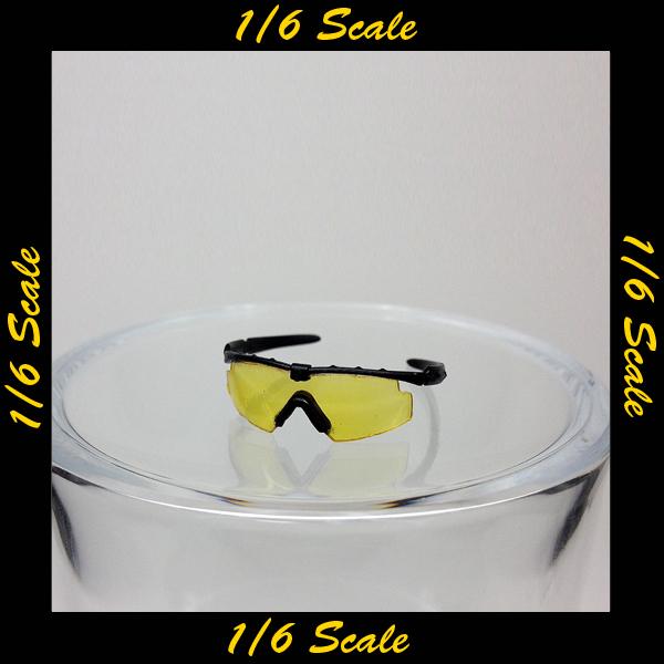 【01166】 1/6 Easy & Simple  シューティング サングラス