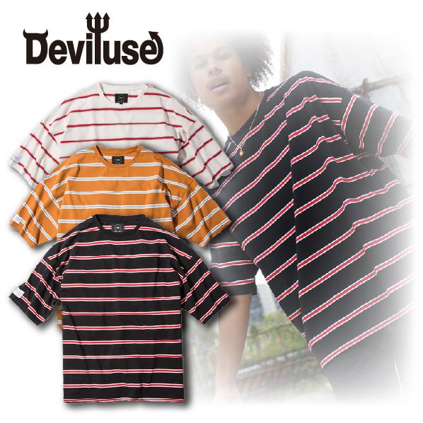 Deviluse(デビルユース) |  Border Big T-shirts